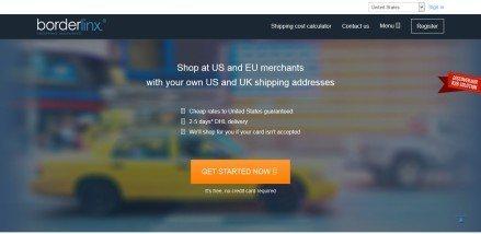 Borderlinx US UK Parcel forwarding service