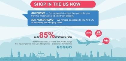 USgoBuy parcel forwarding service