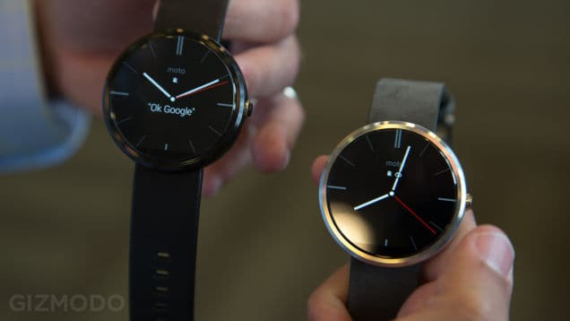 The Moto 360 is elegant and sports a truly premium design.
