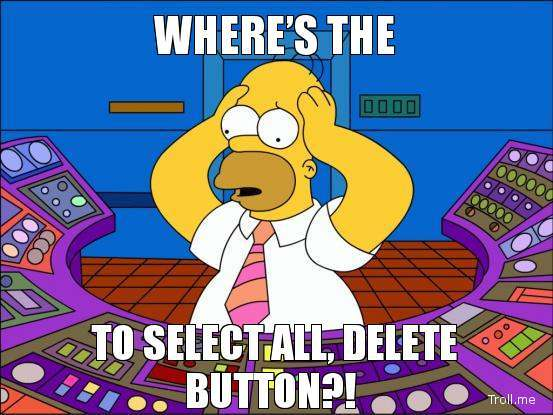 This is how you might feel when you try to delete yourself from the internet.