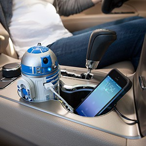 R2-D2 USB Car Charger - Fathers Day Gift