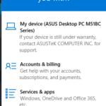 Windows 10 - Support
