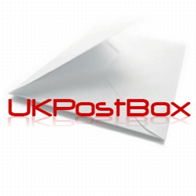 UK postbox mail forwarding service