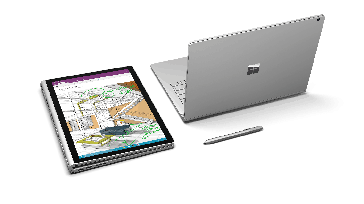 Surface Book multiuse