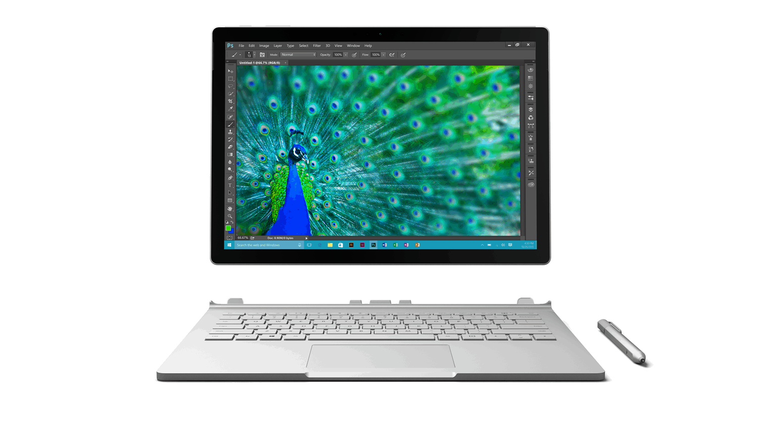Surface Book Into a Tablet