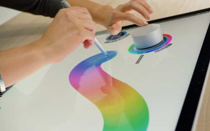 Surface Dial for Users