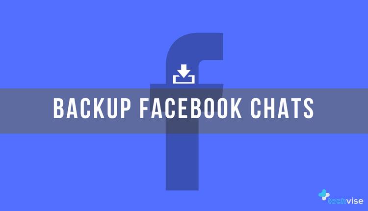Backup Facebook Chat
